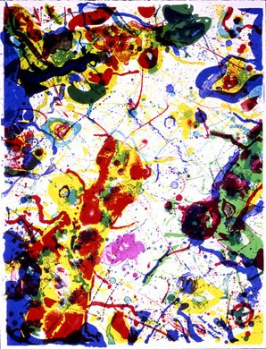 Art multi sam francis page 5 for Posters art contemporain